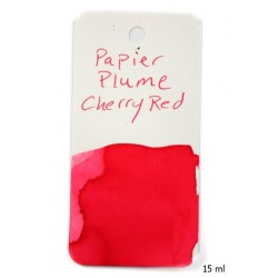 Atrament Papier Plume Cherry Red 15 ml