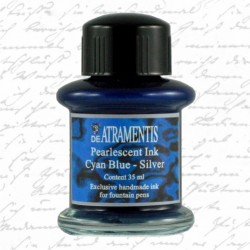 Atrament De Atramentis Pearlscent Cyan Blue