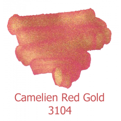 Atrament De Atramentis Pearlscen Columbian Camlien Red Gold