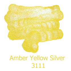 Atrament De Atramentis Pearlscen Amber Yellow Silver