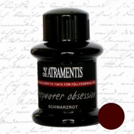 Atrament De Atramentis Document Ink Black Red